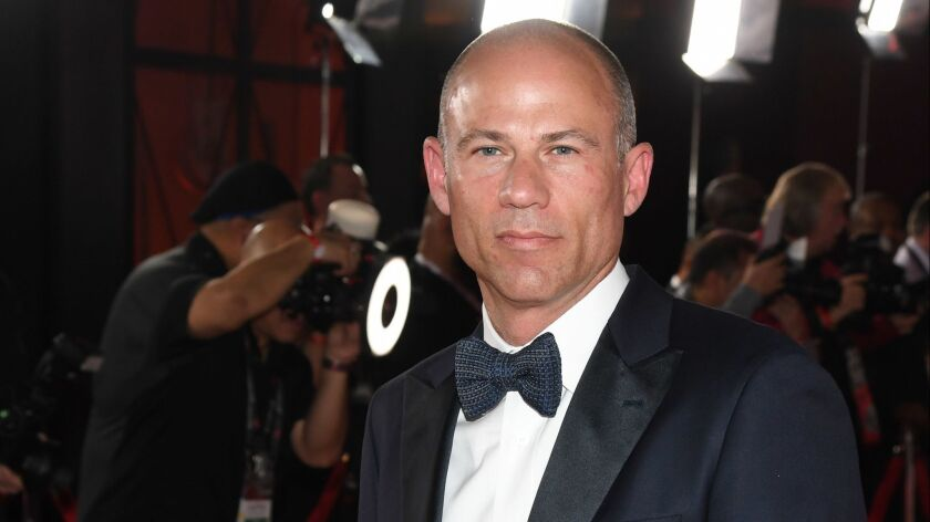 Attorney Michael Avenatti attends the 2019 Adult Video News Awards on Jan. 26 in Las Vegas.