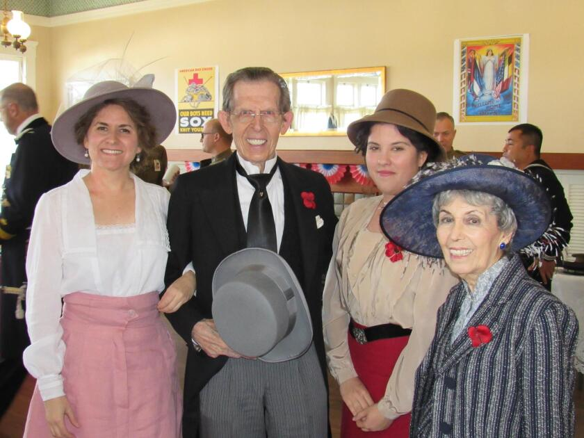 Christina Walley, Michel Coclet, Josephine Siena and Marie-Jo Dulade-Coclet