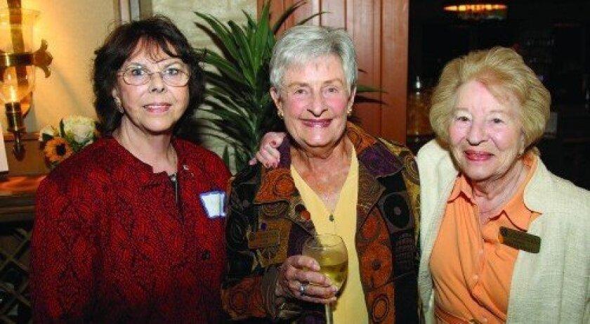Audrey Eller, Emily Schneider, Shirley Foote (Photo: Jon Clark)