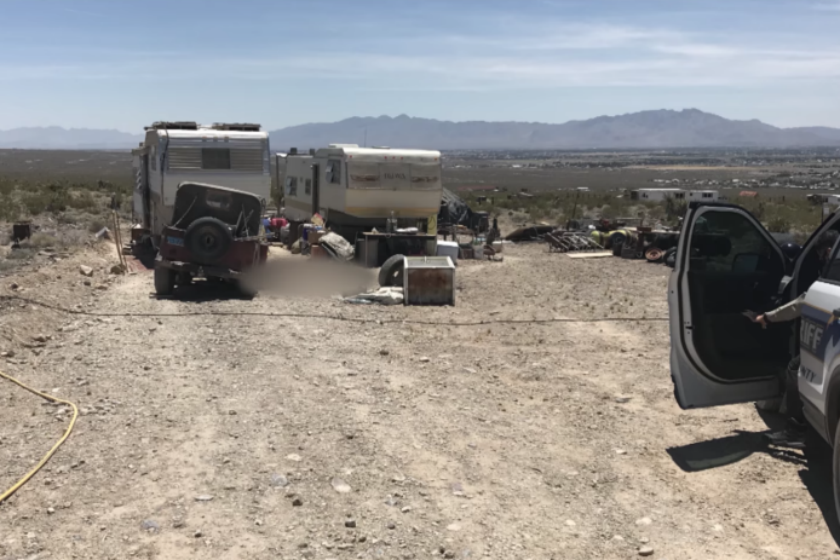 Ridgecrest earthquakes likely caused Nevada man's death - Los