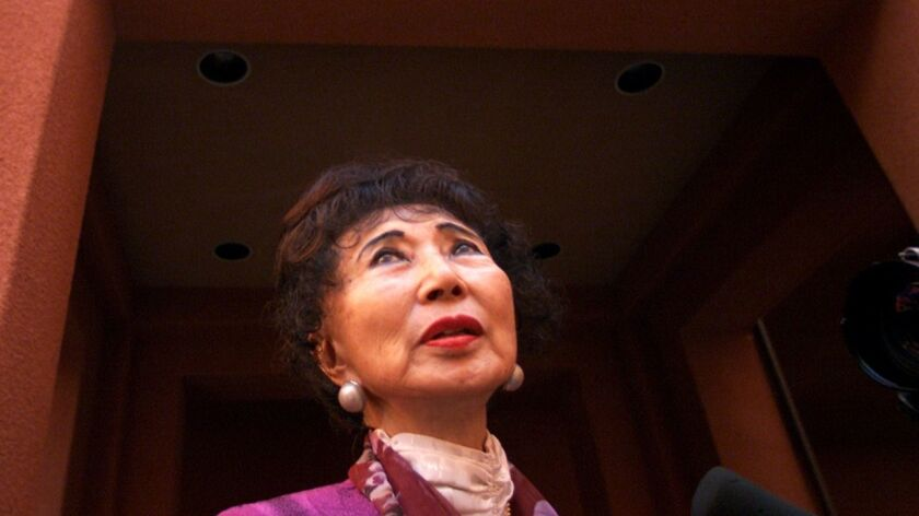 March Fong Eu was the first woman to serve as California secretary of state and the first Chinese American to hold a constitutional office in California.