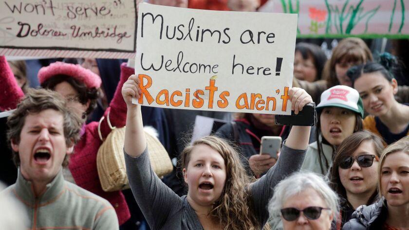 Trump immigration protest