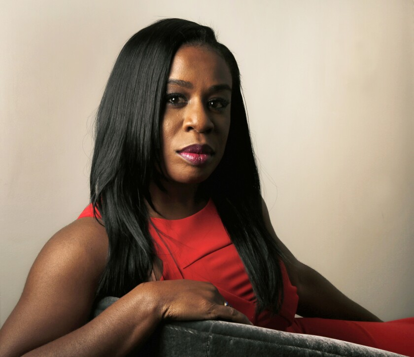 """Uzo Aduba is best known for her role as Suzanne """"Crazy Eyes"""" Warren on the Netfix television series """"Orange is the New Black."""" Aduba """"Glee"""" star Amber Riley have joined the all-star cast of NBC's production of """"The Wiz Live!"""""""