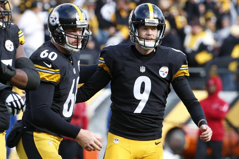 the best attitude 105f9 e8999 Chris Boswell is kicking his way into Steelers history - The ...