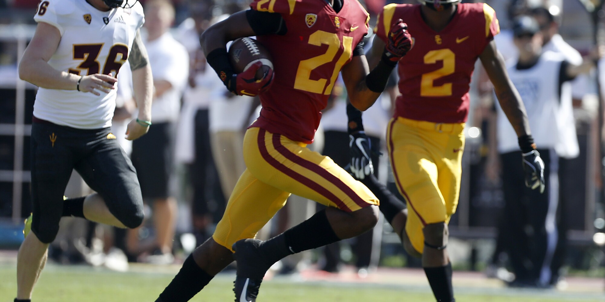 Live updates: USC 38, Oregon State 21