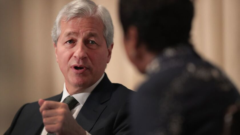 Jamie Dimon, chairman and CEO of JPMorgan Chase, said Tuesday that he's still not very interested in cryptocurrencies.