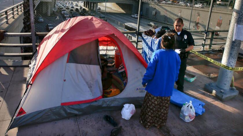 Los Ángeles acordó pagar más de $ 800,000 para llegar a un acuerdo en dos casos relacionados con los derechos de los desamparados.