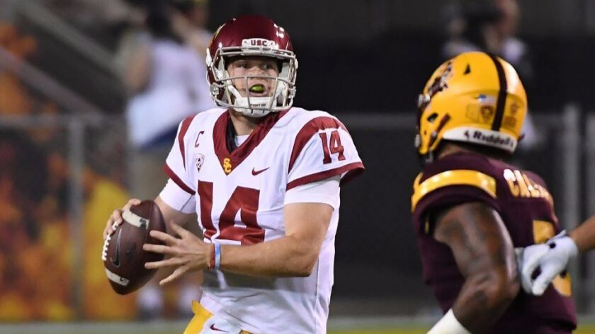 Usc Mailbag No Sam Darnold Probably Doesn T Hate The