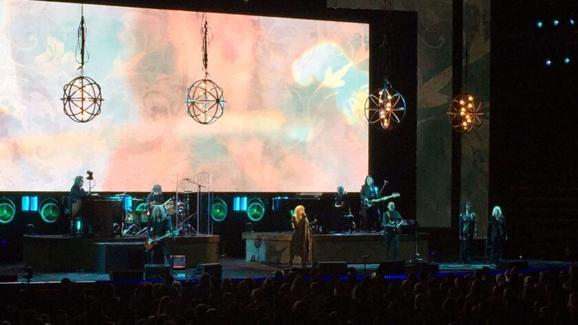Stevie Nicks played an 18-song set on March 2 at Viejas Arena.