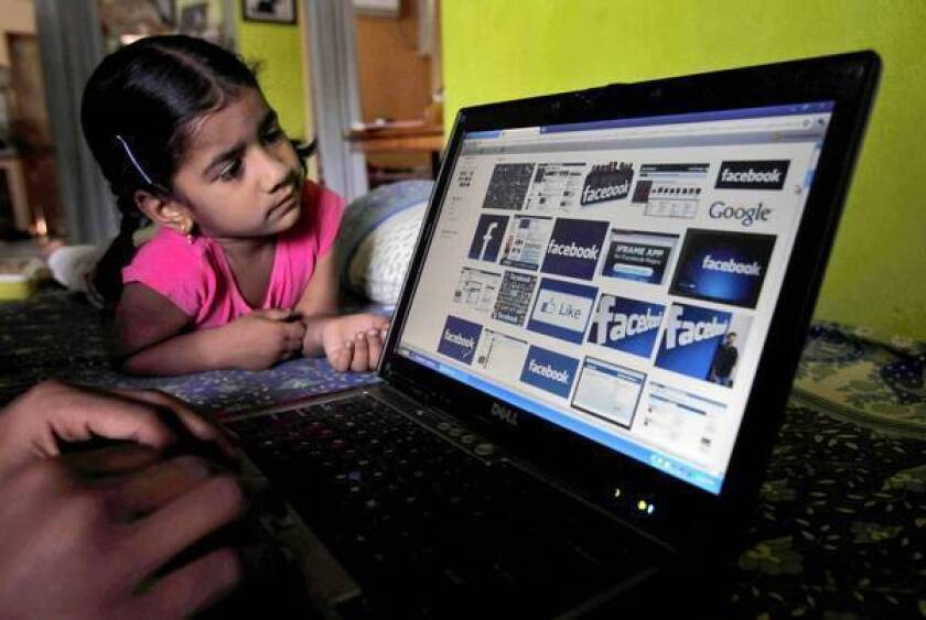 Giant social network Facebook may give access to children under 13