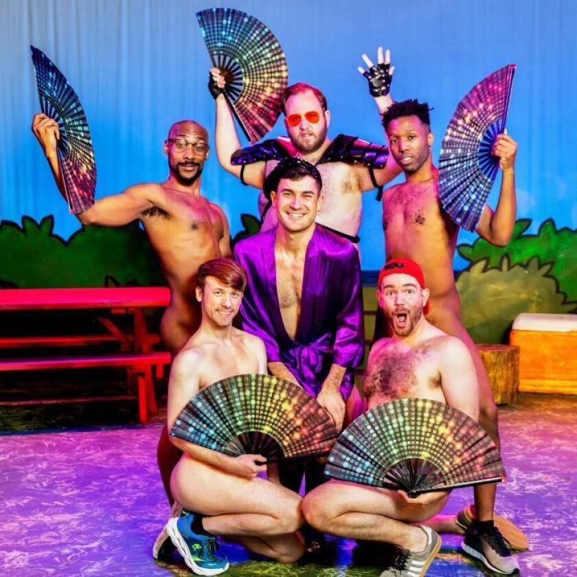 Un musical nudista gay celebra el Orgullo Mundial de Nueva York sin complejos