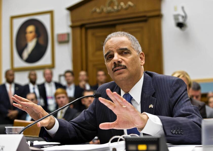 Atty. Gen. Eric H. Holder Jr. has been asked by President Obama to review guidelines for investigating journalists.