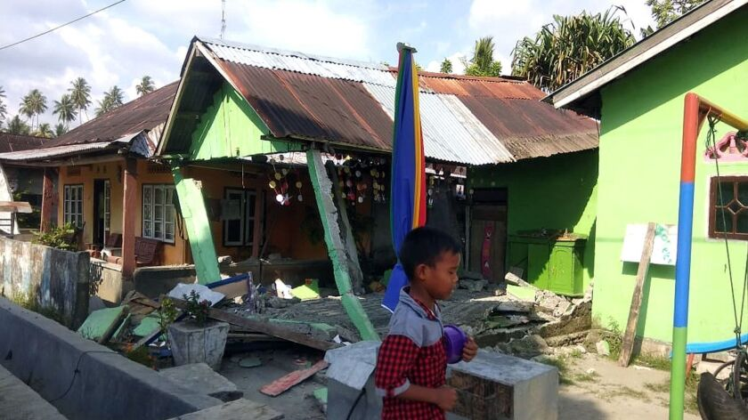 Earthquake in Donggala, Indonesia - 28 Sep 2018