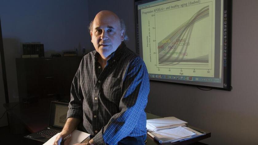 Alzheimer's researcher Dr. Paul Aisen.
