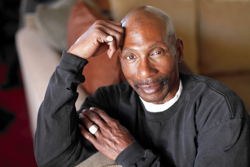 Reginald Clarke, 55, applied for healthcare coverage under Medi-Cal in December but hasn't yet heard back from the state.