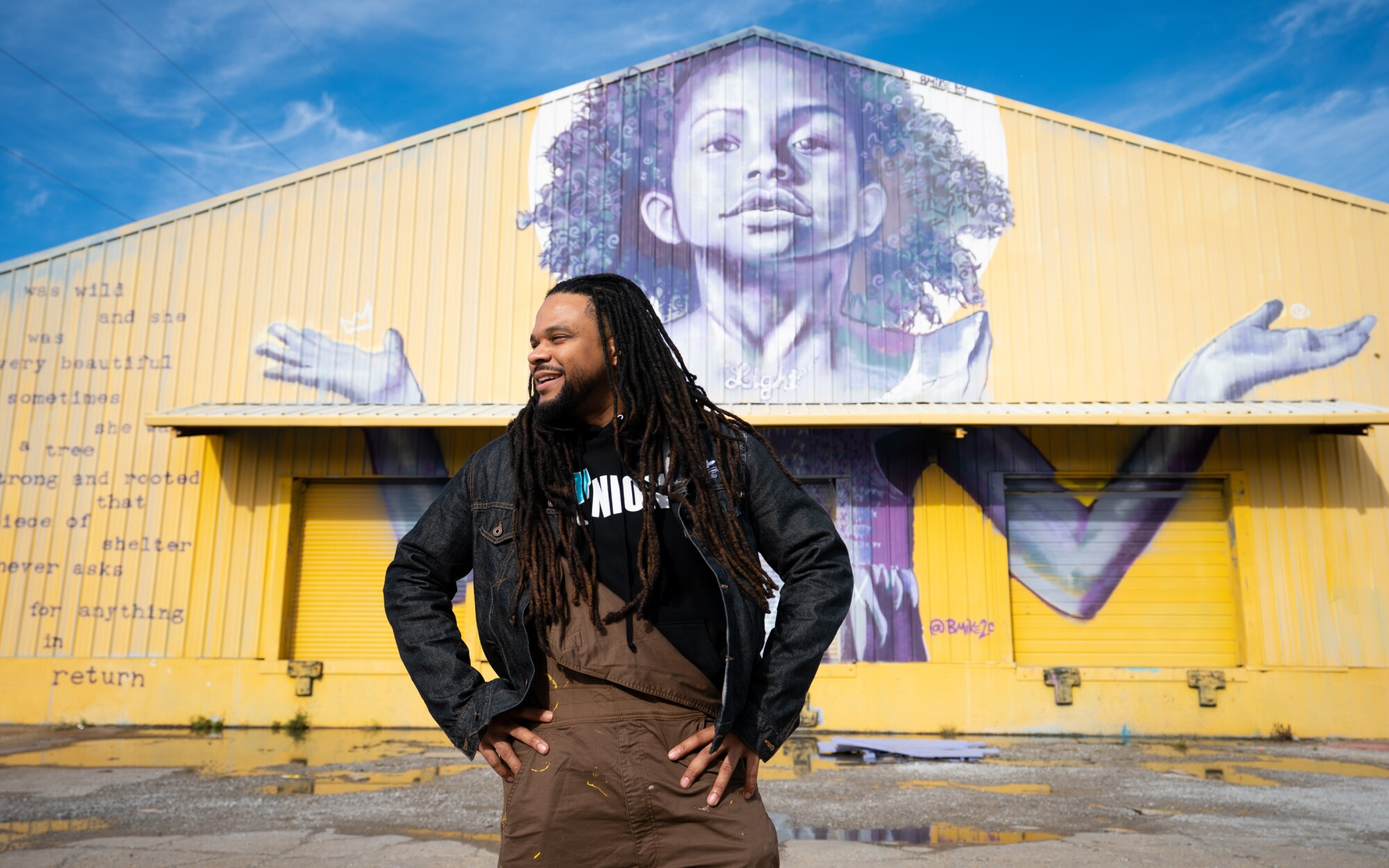 As he transforms neglected corners of New Orleans, artist Brandan Odums can add 'alchemist' to his resume - Los Angeles Times