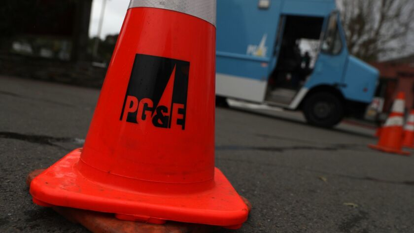 PG&E pylon