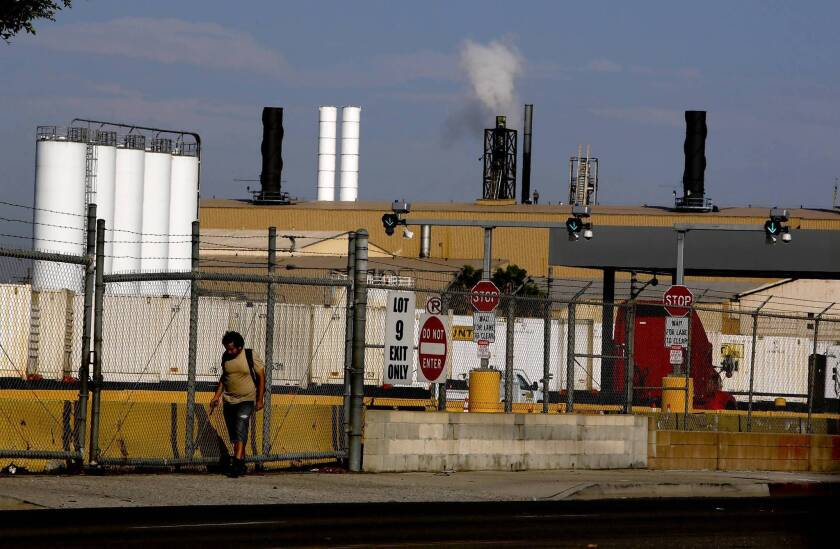 More than 250,000 people in southeast Los Angeles could be affected by the Exide emissions, authorities say, though it is unclear if anyone has been harmed.