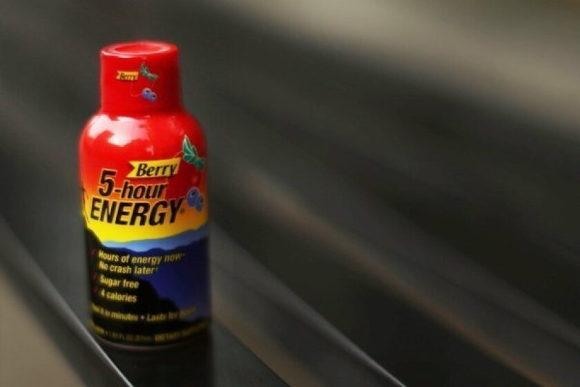 "An FDA spokeswoman said in an interview with Bloomberg News that the energy shot has been associated with 92 ""adverse event"" reports in the last four years, including 32 hospitalizations."