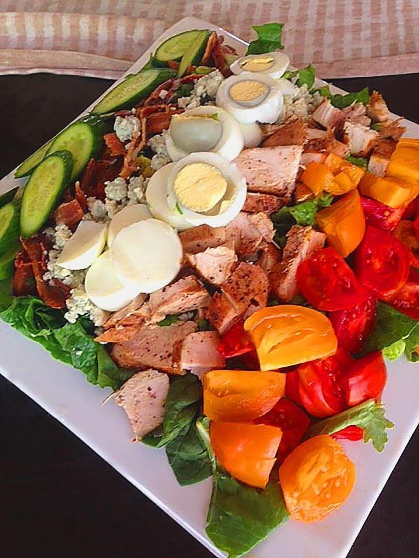 Vegetarian Copycat Cobb Salad