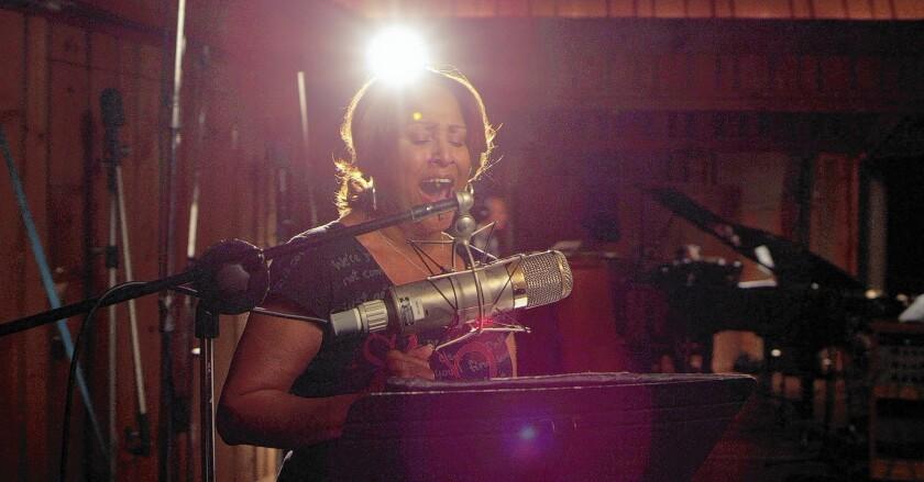 "Darlene Love is featured in ""20 Feet From Stardom."""