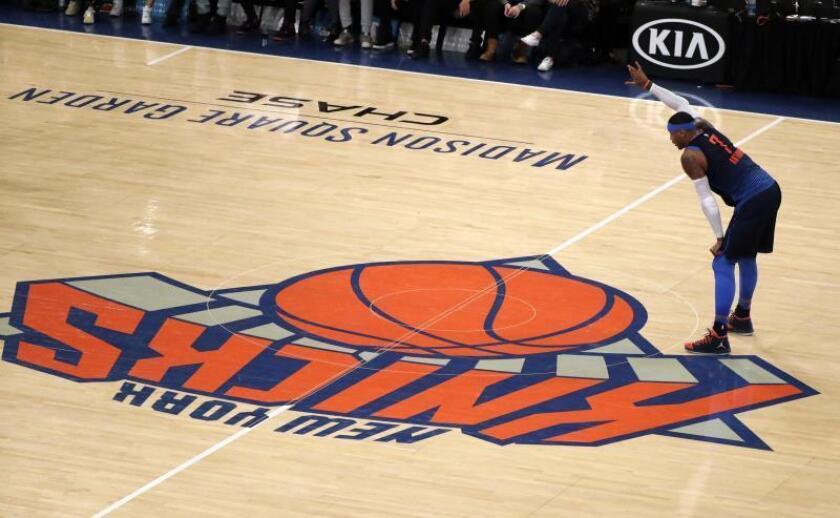El jugador Carmelo Anthony. EFE/Archivo