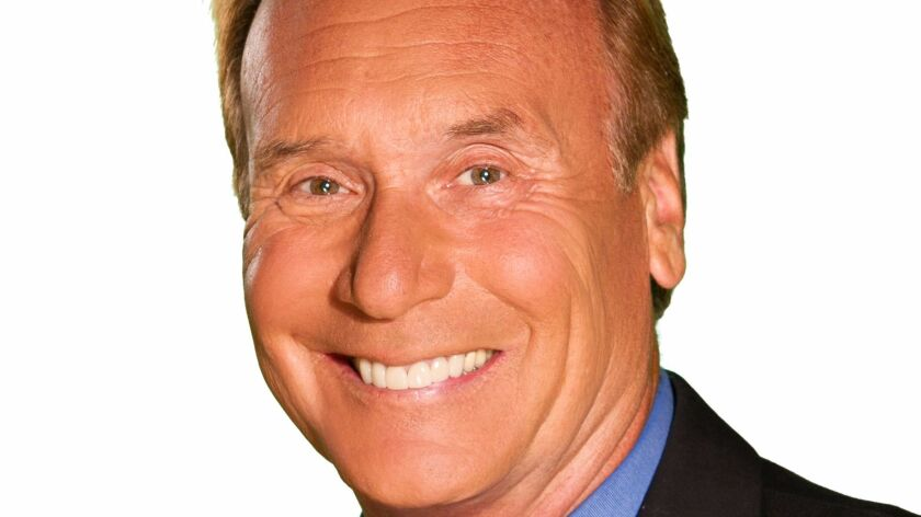 KFMB-TV's longtime feature reporter Larry Himmel, who spent 35 years with the station.