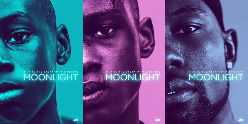'Moonlight' posters