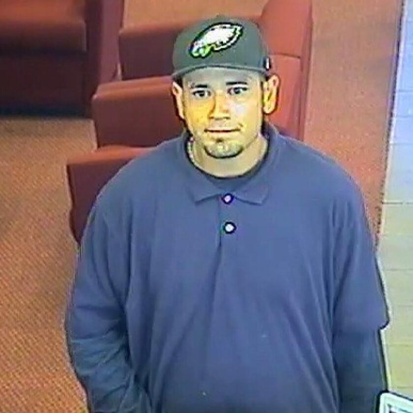 """Suspect in the """"Hypnotist Bandit"""" bank robberies."""