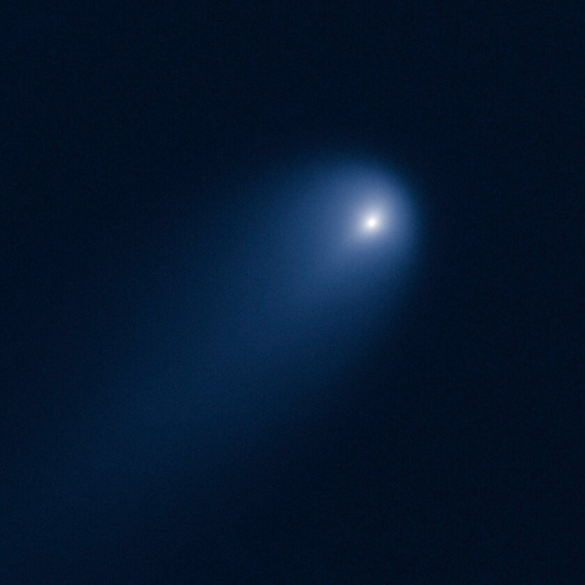 Hubble has picture of 'comet of century'; this spectacle could fizzle