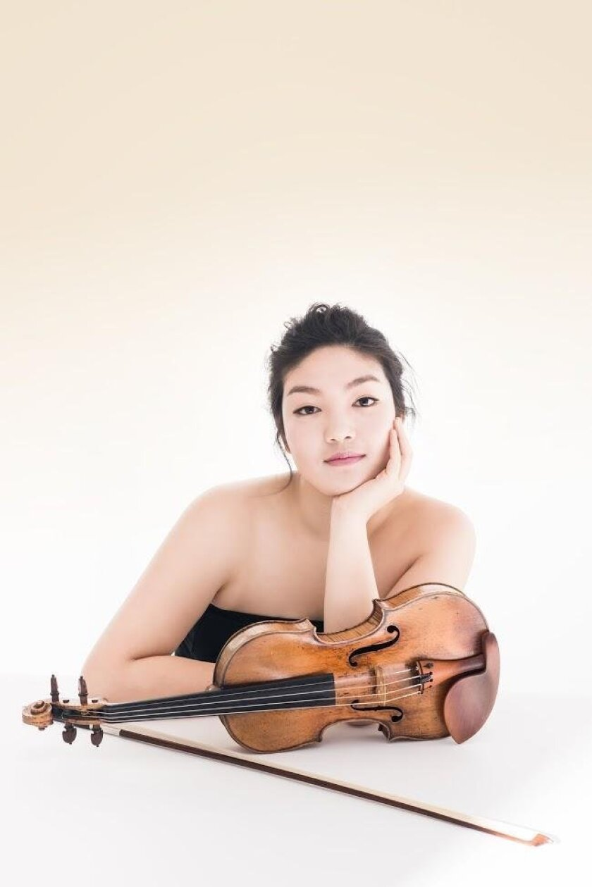 Violinist Jinjoo Cho