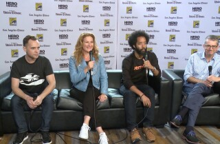 Comic-Con: Ana Gasteyer and Wyatt Cenac on 'People of Earth'