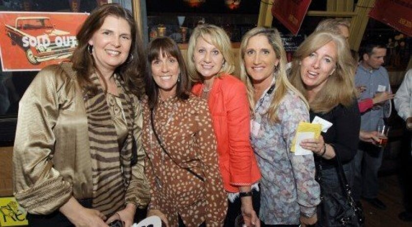 Comischell Rodriguez, Scot Schroeder, Sallie Small, Nina Detrow, Betsy Mackey (Photo/Jon Clark)