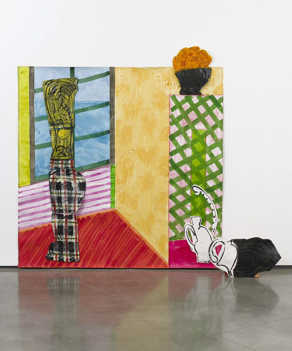Review: At David Kordansky Gallery, Betty Woodman's monumental eye candy - Los Angeles Times