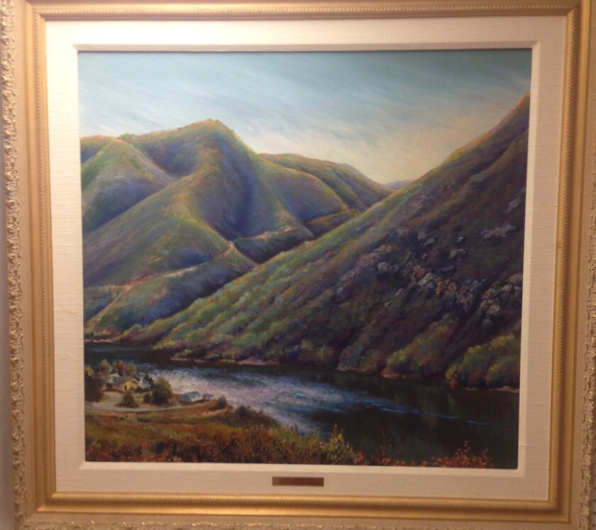 An original piece by Bill Schlosser, an RSF artist who will be participating at the event.