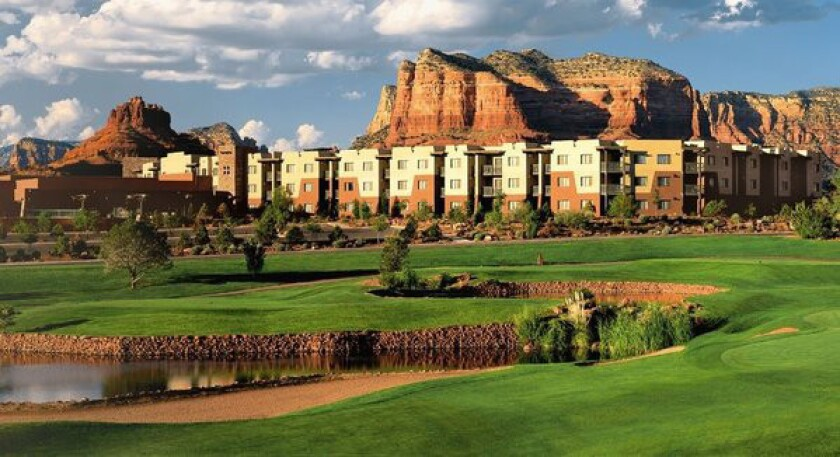 The Hilton Sedona Resort & Spa is among three hotels in Arizona taking 30% off their best available room prices.
