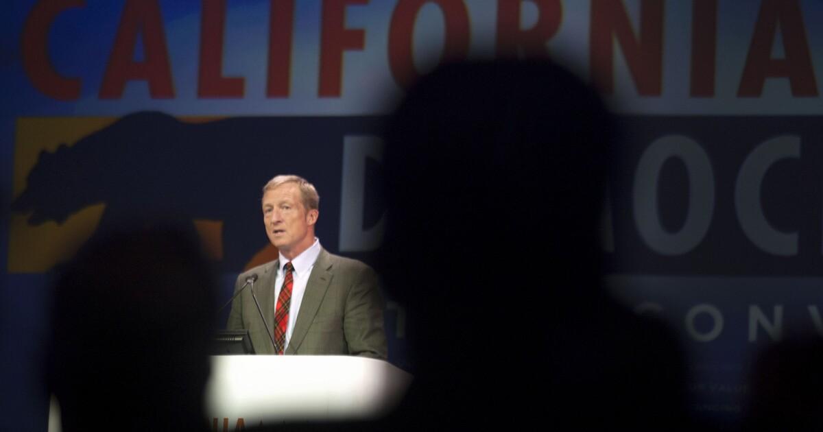 California billionaire Tom Steyer spent $47 million in three months on presidential bid
