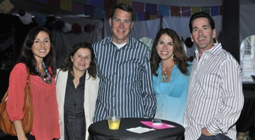 Stella Erkam, Cara and Brendan Cadden, Patti and Clay Whiting