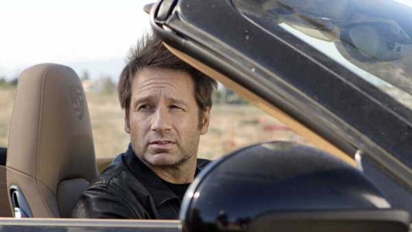 "David Duchovny in ""Californication"" on Showtime."