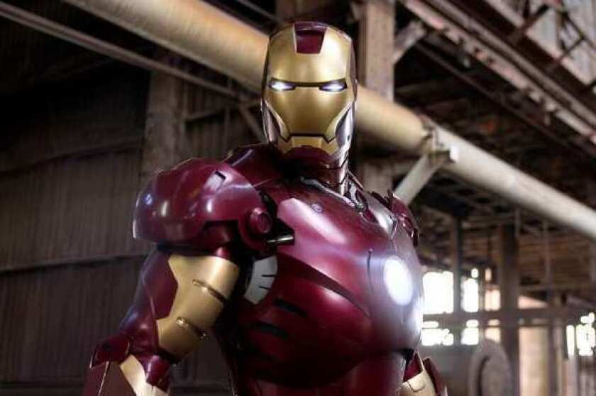 Is that Tony Stark or Elon Musk under that Iron Man costume?