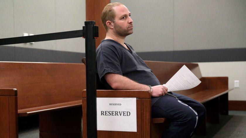 Aramazd Andressian Sr. appears in court in Las Vegas.