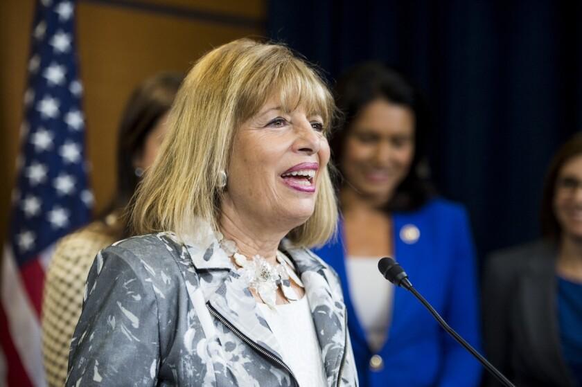 Rep. Jackie Speier (D-Hillsborough) was among the California legislators leading the effort.
