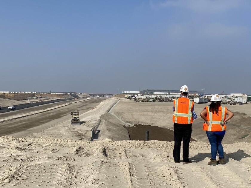Este miércoles 7 de octubre de 2020 inició la pavimentación del último tramo de la SR-11