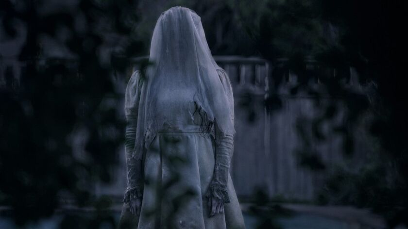"This image released by Warner Bros. Pictures shows Marisol Ramirez in a scene from ""The Curse of La"