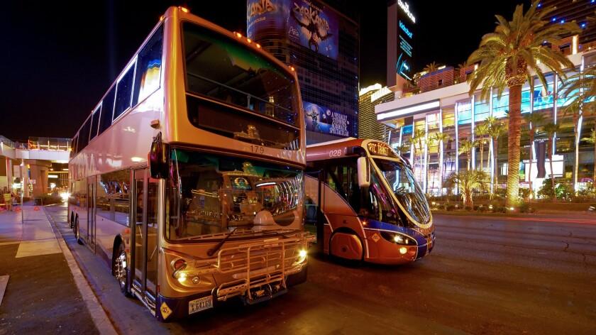 Las Vegas transit buses