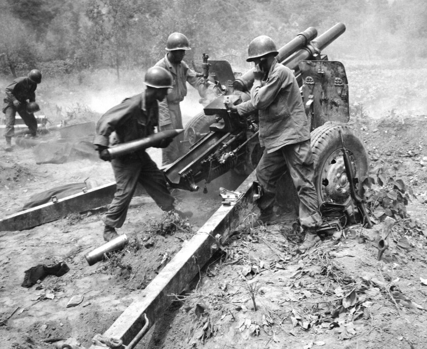 Army artillery
