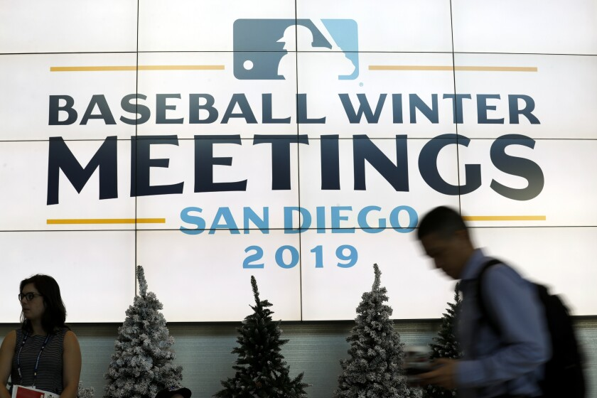 Winter Meetings Baseball