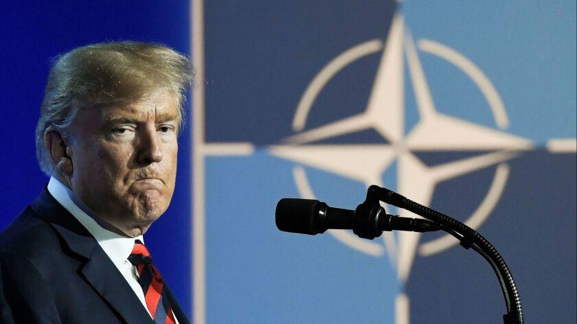 EU Nato Summit, Brussels, Belgium - 12 Jul 2018