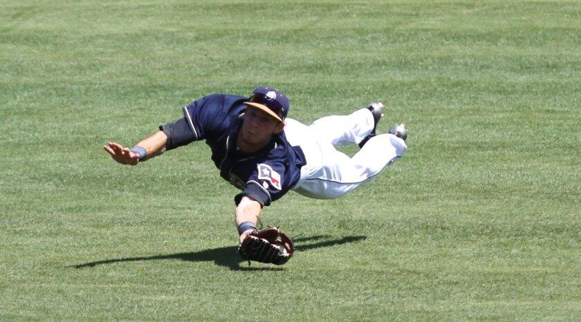 Padres center field prospect Travis Jankowski opened the 2015 season at Double-A San Antonio.