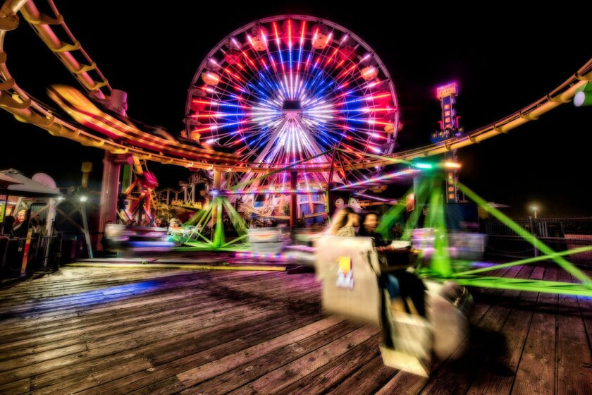 Reader photo: Rides at the pier